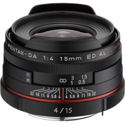 【長期保証付】ペンタックス HD PENTAX-DA 15mmF4ED AL Limited(ブラック)
