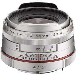 【長期保証付】ペンタックス HD PENTAX-DA 15mmF4ED AL Limited(シルバー)