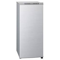 【設置+リサイクル+長期保証】パナソニック NR-FZ120B-S(シャイニングシルバー) 1ドア冷凍庫 121L