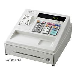 【長期保証付】シャープ XE-A147-W(ホワイト) 電子レジスタ 8部門
