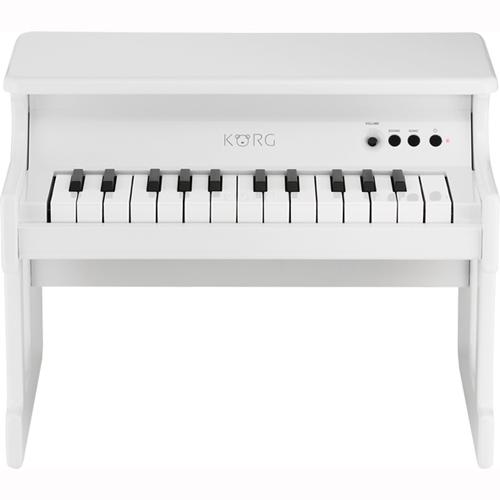 KORG tinyPIANO-WH(ホワイト) tinyPIANO(タイニーピアノ) デジタルトイピアノ 25鍵盤