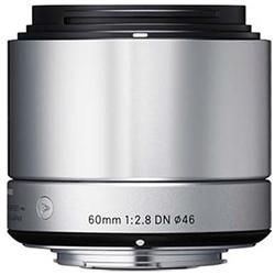 F2.8 【長期保証付】シグマ DN(シルバー) 60mm マイクロフォーサーズ用