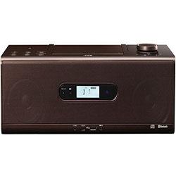 【長期保証付】JVC RD-W1-T(ブラウン) CDポータブルシステム