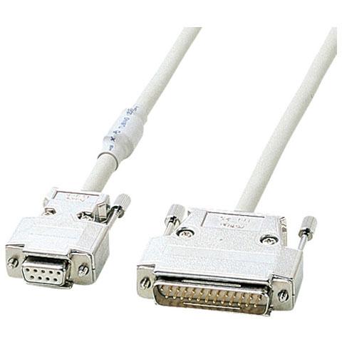 サンワサプライ KRS-3110FN RS-232Cケーブル TA モデム用 10m