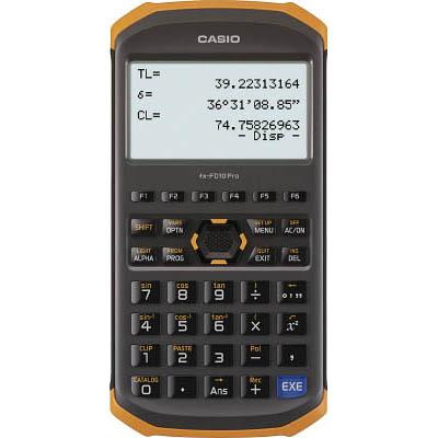 CASIO fx-FD10 Pro 土木測量専業電卓