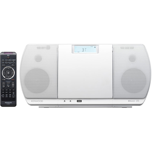 【長期保証付】ケンウッド CR-D3-W(ホワイト) CD/Bluetooth/USBパーソナルオーディオシステム