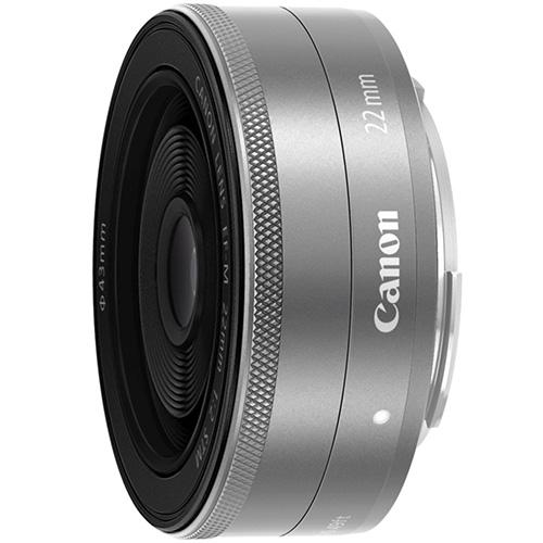 【長期保証付】CANON EF-M22mm F2 STM(シルバー)