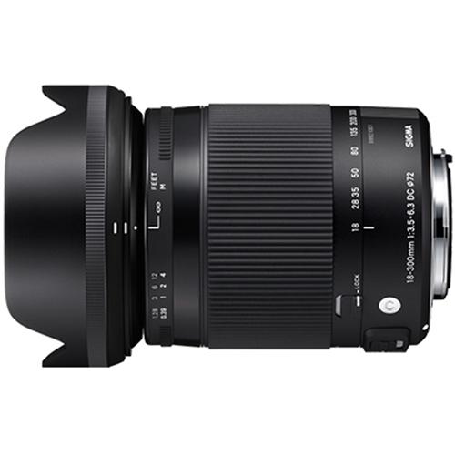 【長期保証付】シグマ 18-300mm F3.5-6.3 DC MACRO HSM ソニー用