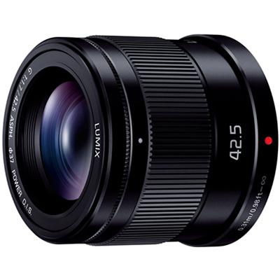 パナソニック LUMIX G 42.5mm/F1.7 ASPH./POWER O.I.S.(ブラック)