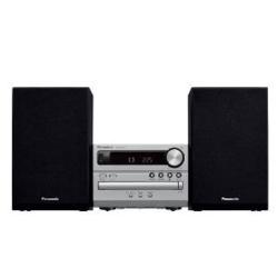 パナソニック Panasonic CDステレオシステム セットコンポ/Bluetooth接続/USBメモリー再生 /ラジオ SC-PM250-S(シルバー)