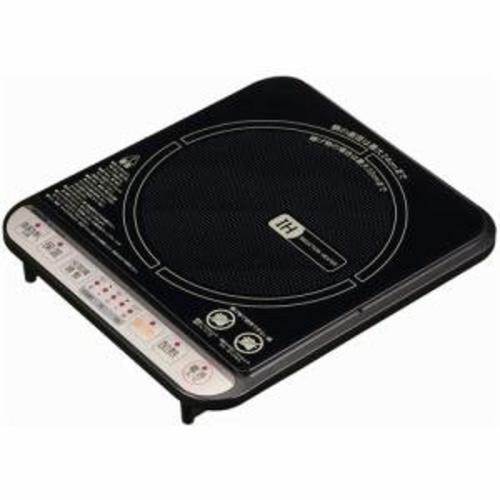 在庫あり セール 国内在庫 14時までの注文で当日出荷可能 山善 ブラック IEA-Y1400 卓上IH調理器
