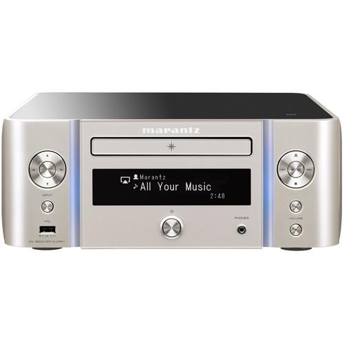 【長期保証付】マランツ MATANTZ ネットワークCDレシーバー ハイレゾ対応 Bluetooth ワイドFM MP3 MWA シルバーゴールド M-CR611