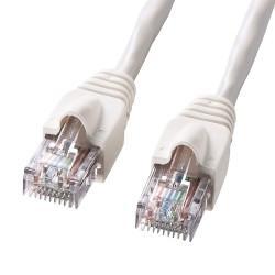 サンワサプライ KB-10T5-70N(ホワイト) UTPエンハンスドカテゴリ5ハイグレード単線ケーブル 70m