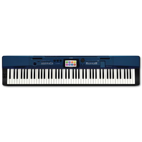 【長期保証付】CASIO PX-560M-BE(ディープブルー調) Privia(プリヴィア) 電子ピアノ 88鍵盤