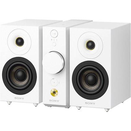 ソニー CAS-1-W(ホワイト) Bluetoothワイヤレススピーカーシステム