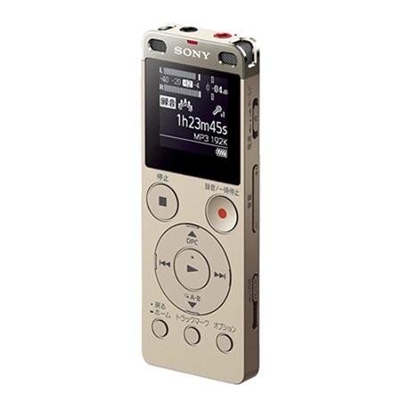 ソニー ICD-UX560F-N(ゴールド) ステレオICレコーダー 4GB
