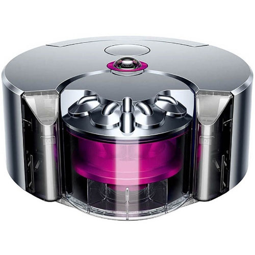 【長期保証付】ダイソン 360 Eye ロボット掃除機 RB01NF(ニッケル/フューシャ)