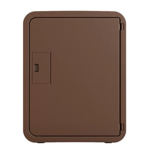 ナスタ B1M-C-DB(ダークブラウン) スマポ STANDARD(シリンダー錠) 戸建て用宅配ボックス