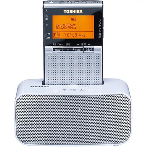 東芝 TY-SPR7-S(シルバー) AM/FMラジオ