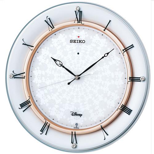 セイコー FS501W 電波掛け時計