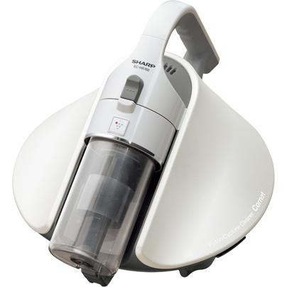 【長期保証付】シャープ(SHARP) サイクロン式ふとん掃除機(ホワイト) Cornet(コロネ) EC-HX150-W
