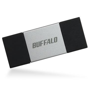 バッファロー RUF3-AL064G-SV(シルバー) Lightning × USB3.0対応 USBメモリー 64GB