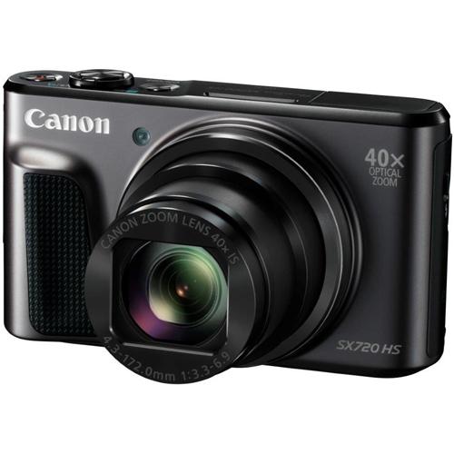 【長期保証付】キヤノン(Canon) コンパクトデジタルカメラ PowerShot SX720 HS(ブラック) Wi-Fi/小型ボディー/光学40倍ズームレンズ
