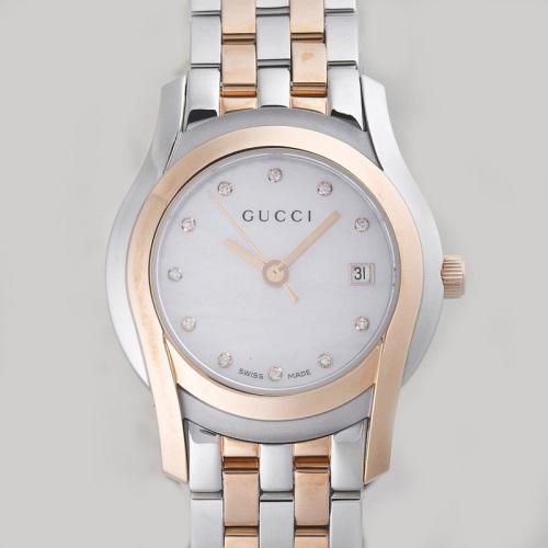 GUCCI グッチ YA055536 G-CLASS ピンクシェル レディース