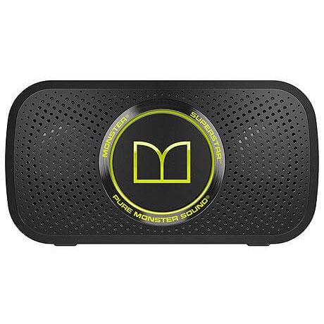 MONSTER MH SPSTR N-GR(ネオングリーン) SUPERSTAR ワイヤレススピーカー Bluetooth接続