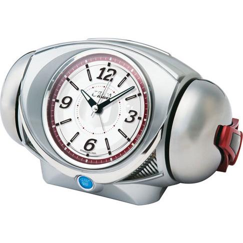 セイコー CQ141S(銀色メタリック) 目覚まし時計 ウルトラライデン