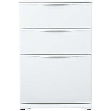 【長期保証付】アクア(AQUA) 冷凍庫 124L AQF-12RE-W(クールホワイト)