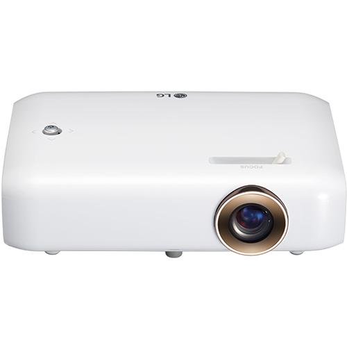 ホームシアター LEDプロジェクター 550lm HD LGエレクトロニクス PH550G(ホワイト) Minibeam(ミニビーム)