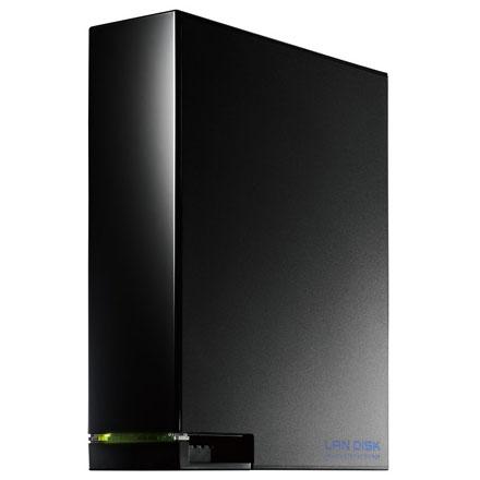 IODATA LAN DISK HDL-AA2 デュアルコアCPU搭載 超高速モデル 2TB 1ベイ