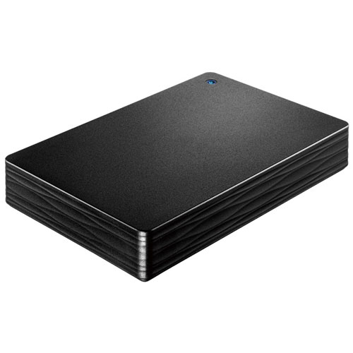 IODATA HDPH-UT2DK(ブラック) カクうす Lite ポータブルHDD 2TB USB3.0接続