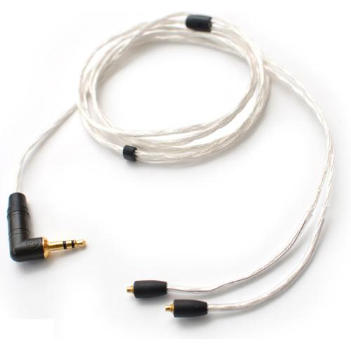 AUDIOTRAK Re:Cable SR3 ミニプラグ(L型) ⇔ MMCXリケーブル 1.2m