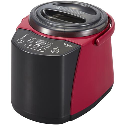 【長期保証付】タイガー魔法瓶 精米器(無洗米機能つき) 5合 RSF-A100R(レッド)