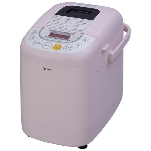 【長期保証付】エムケー精工 HBK-101P(ピンク) ふっくらパン屋さん ホームベーカリー 1斤