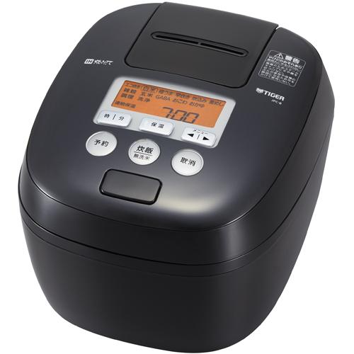 【長期保証付】タイガー魔法瓶 JPC-B100-K(ブラック) 炊きたて 圧力IH炊飯ジャー 5.5合