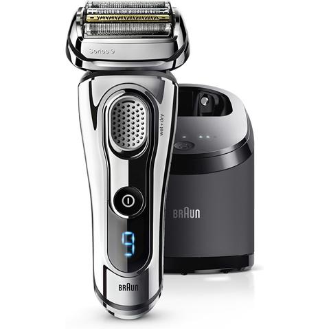 【長期保証付】ブラウン(BRAUN) シェーバー(シルバー) Series9(シリーズ9) 4枚刃 洗浄充電器付き 9295CC