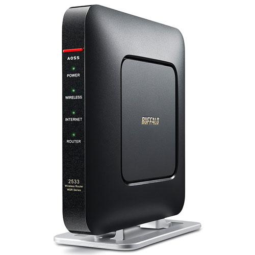 バッファロー(BUFFALO) WSR-2533DHP-CB(クールブラック) 無線LANルーター IEEE802.11ac/n/a/g/b