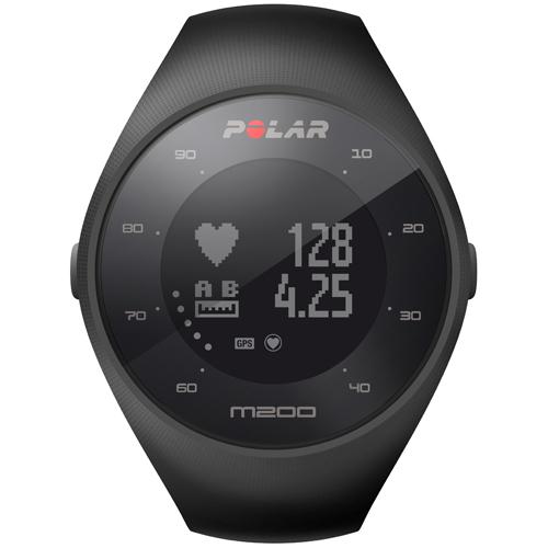 Polar 90061200(ブラック) M200 M/L GPSランニングウォッチ 腕時計タイプ