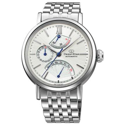 オリエント WZ0101DE Orient Star クラシック レトログラード 機械式時計 (メンズ)
