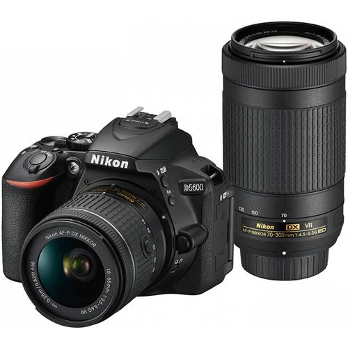 【長期保証付】ニコン(Nikon) デジタル一眼カメラ D5600 ダブルズームキット