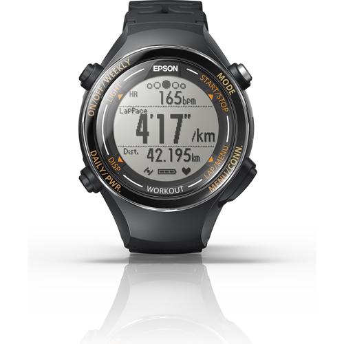 【長期保証付】エプソン SF-850PJ(ジェットブラック) Wristable GPS ランニングギア 腕時計タイプ