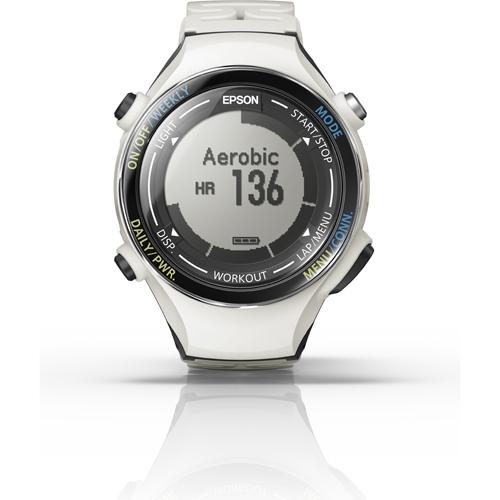 【長期保証付】エプソン SF-850PC(クールホワイト) Wristable GPS ランニングギア 腕時計タイプ