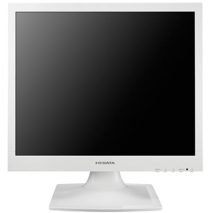 IODATA LCD-AD173SESW(ホワイト) 17型スクエア 液晶ディスプレイ