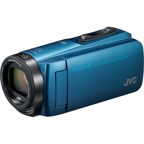 【長期保証付】ビデオカメラ ビクター(JVC) 防水 防塵 耐衝撃 耐衝撃 防塵 防水 Everio R(エブリオ R) 64GB GZ-RX670-A(アクアブルー), 創業60年 コクガ時計宝石店:c562b007 --- jpworks.be
