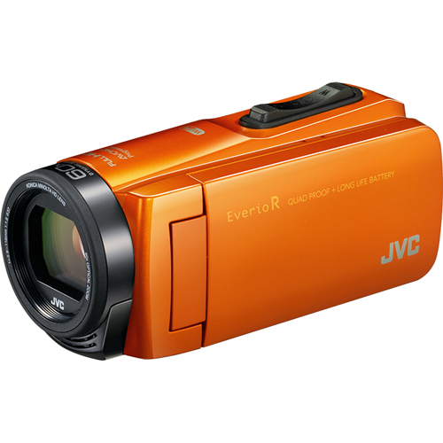 JVC GZ-RX670-D(サンライズオレンジ) Everio R(エブリオ R) ビデオカメラ 防水モデル 64GB