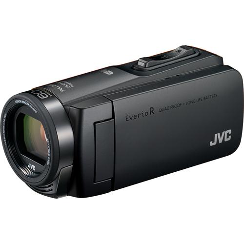 【長期保証付】JVC GZ-RX670-B(マットブラック) Everio R(エブリオ R) ビデオカメラ 防水モデル 64GB