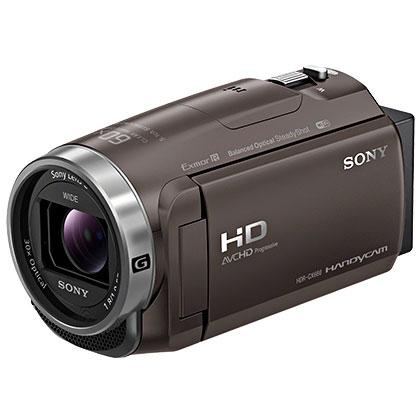 ソニー SONY デジタルHDビデオカメラレコーダー ブロンズブラウン HDR-CX680-TI 64GB内蔵メモリー/空間光学手ブレ補正/広角レンズ